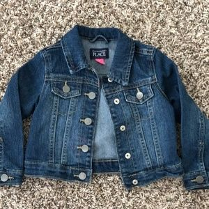 The Childrens Place Toddler Girl Jean Jacket